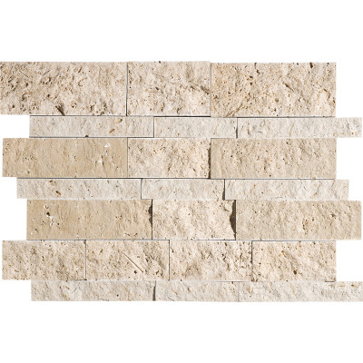 Canyon Split Face Travertine Mosaics