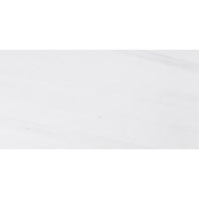 Snow White Polished 9X18X3/8 Marble Tiles