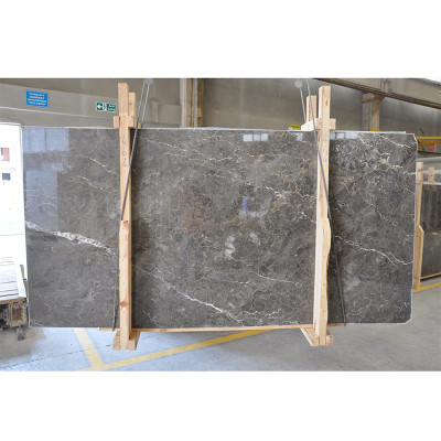 Silver Drop Polished 3/8 Marble Slabs