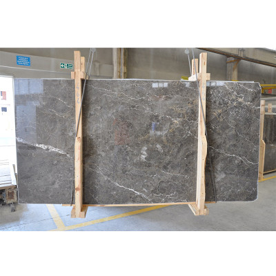 Arctic Gray Polished 3/4 Marble Slabs