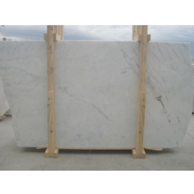Afyon White Polished 3/4 Marble Slabs