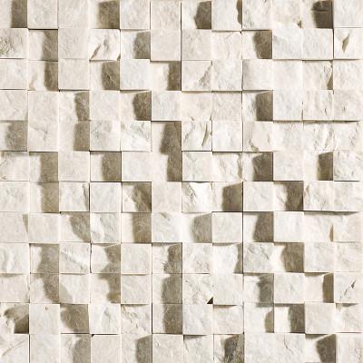 Champagne Exposure 1X1 Limestone Mosaics