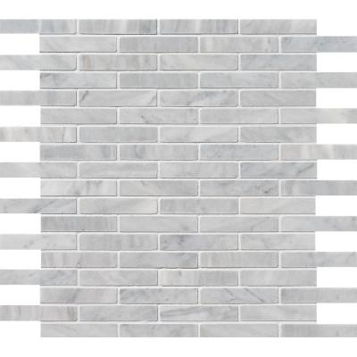 Avenza Honed 5/8X3 Marble Mosaics