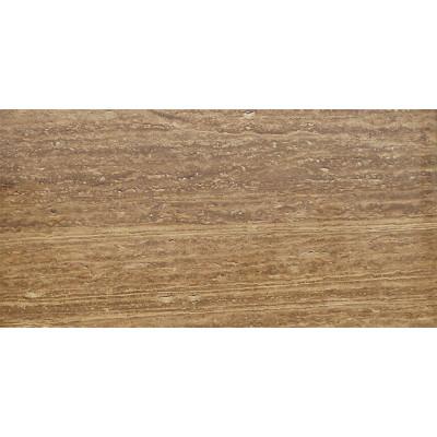 Walnut Vein Cut Honed Filled 12X24X3/4 Travertine Tiles