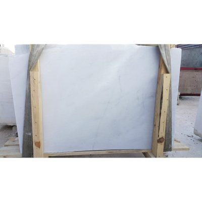 Crystal White Honed 1 1/4