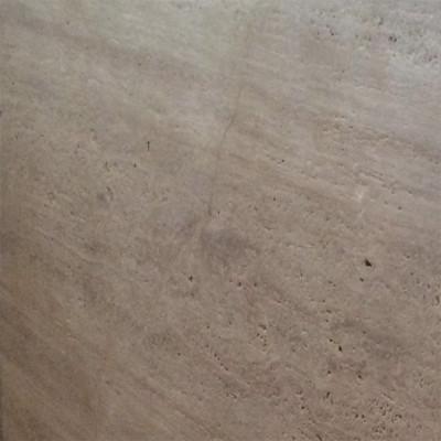 Ivory Vein Cut Polished 18X18X1/2 Travertine Tiles
